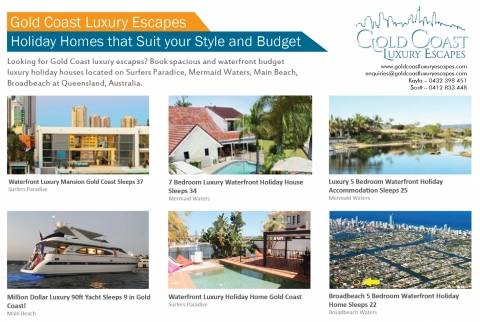 Gold Coast Luxury Escapes | Luxury Holidays Houses at Gold Coast Hotels Accommodation Bundall Directory listings — The Free Hotels Accommodation Bundall Business Directory listings  Gold Coast Luxury Escapes